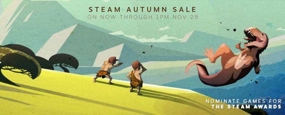 Steam autumn sale kicks off just in time for Black Friday