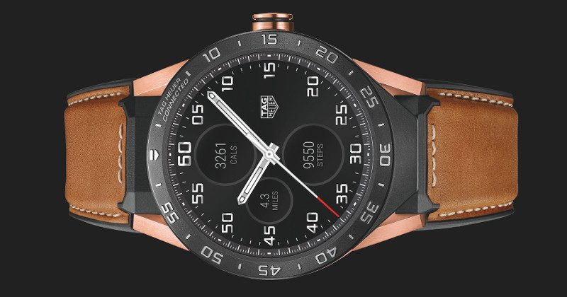TAG Heuer Rose Gold is the Connected Watch you can't afford