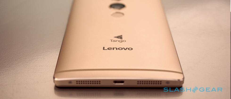 Lenovo's Google Tango phone released for sale with one tiny caveat