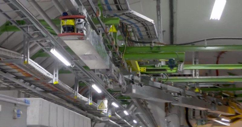 TIM robot keeps the Large Hadron Collider in tiptop shape