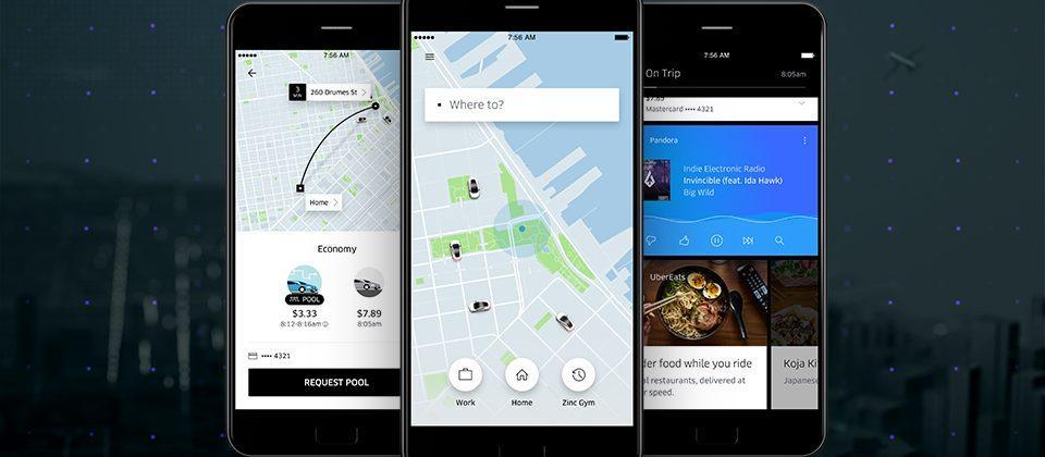 Uber has overhauled its app: three key differences