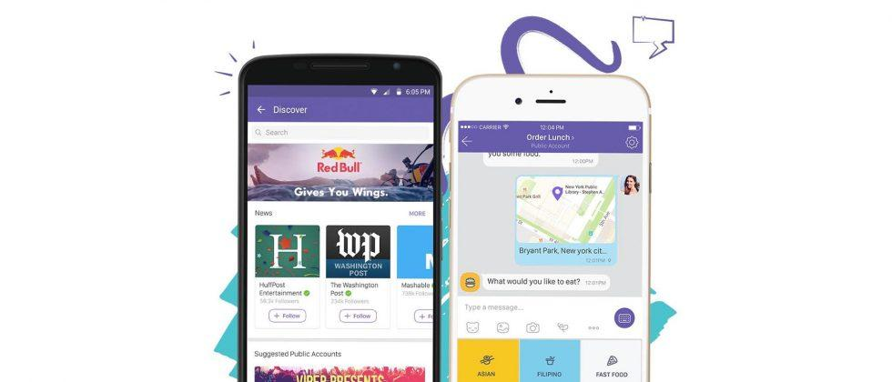 Viber adds public business profiles for easier customer messaging