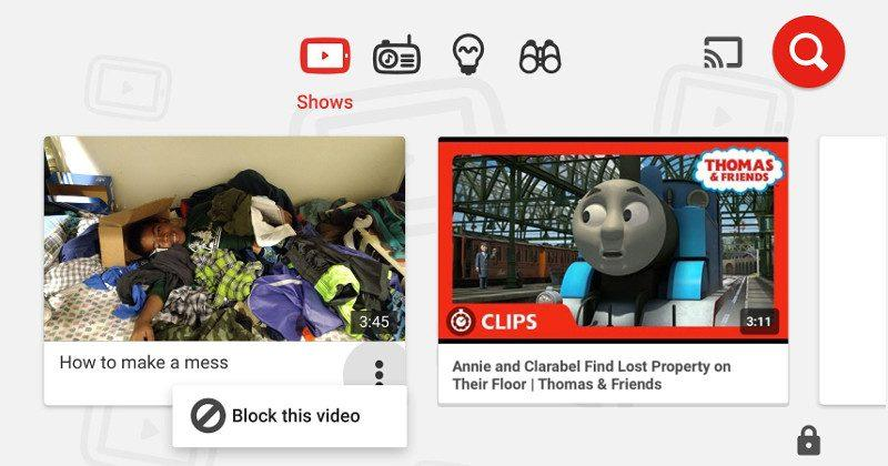 YouTube Kids lets parents block annoying sing-a-longs