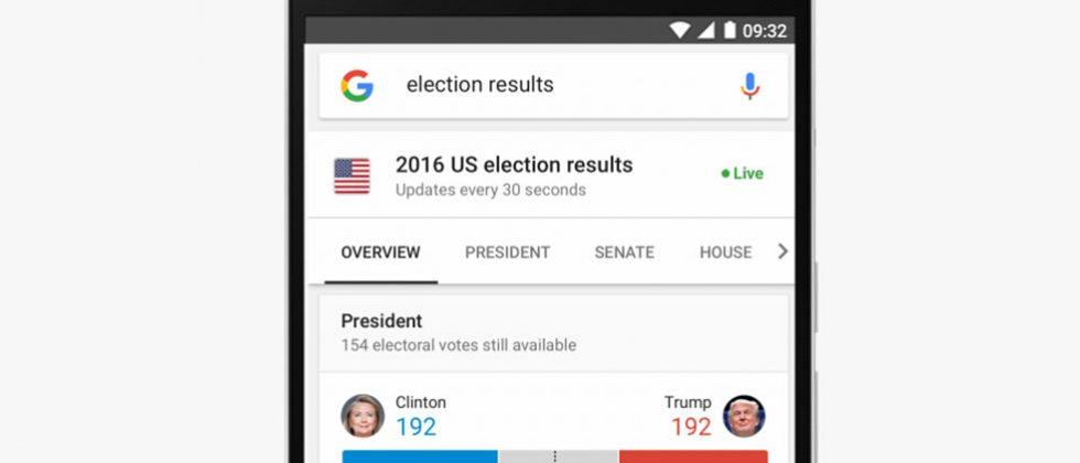 Google and YouTube plan to keep you informed on Election Day