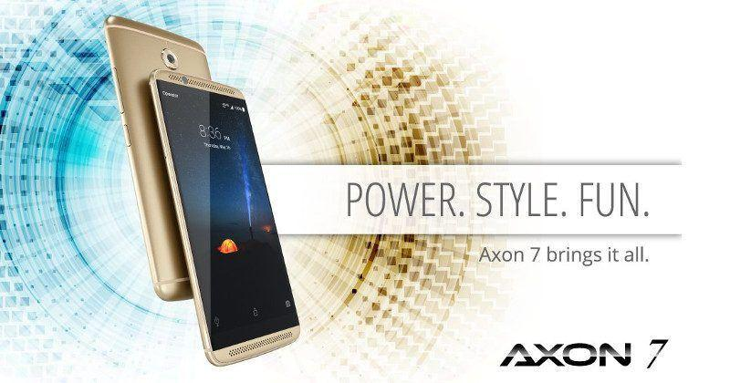 ZTE Axon 7 Enhanced: 6GB RAM, 128GB storage, limited supply