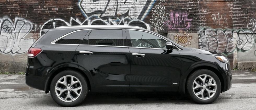 2017 Kia Sorento in 7 passenger SUV showdown with Toyota, Honda, and Mazda