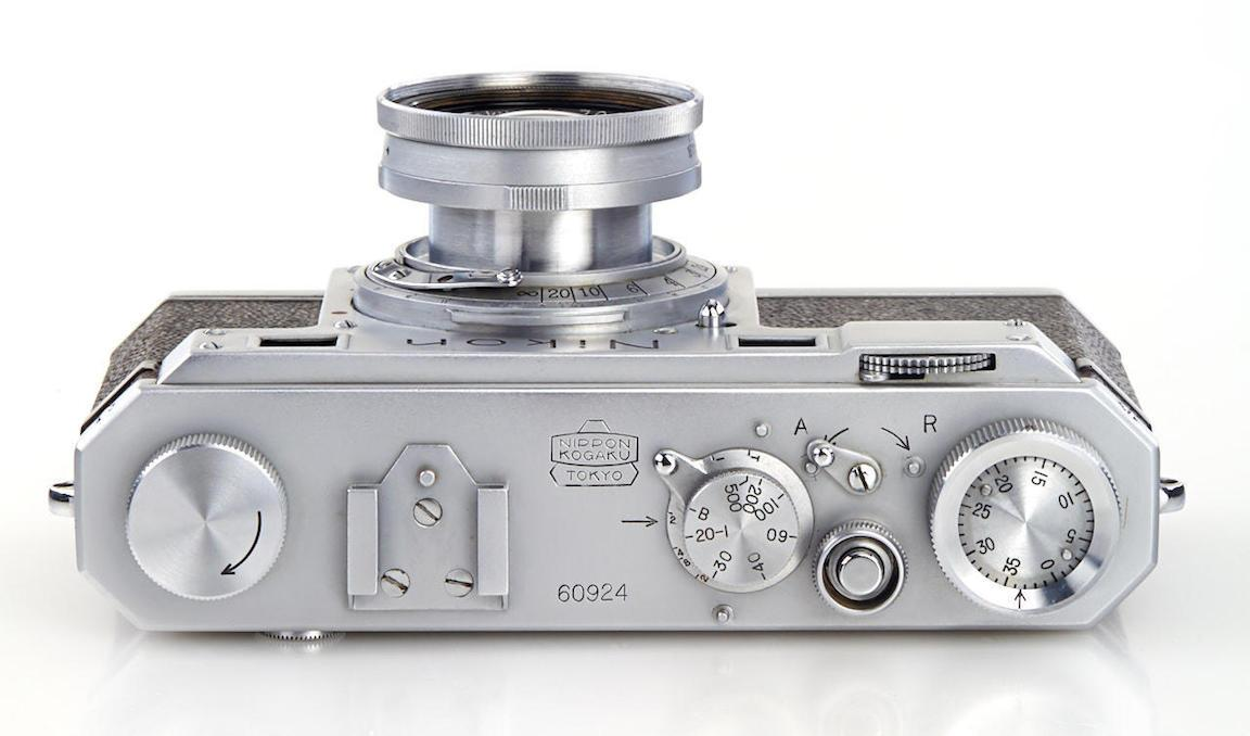 One of the earliest Nikon cameras auctioned for $406K