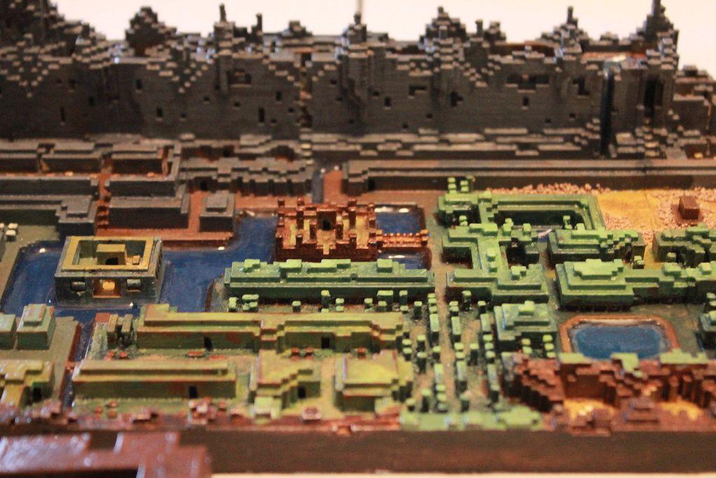 Legend of Zelda fan 3D-printed the original game\'s overworld ...
