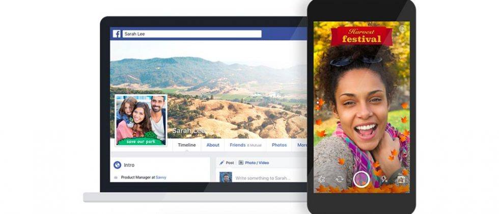 Facebook custom picture frames go live for videos and photos