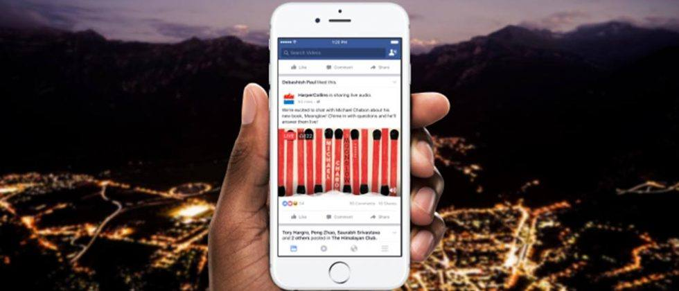 Facebook Live Audio unveiled for real-time audio broadcasting
