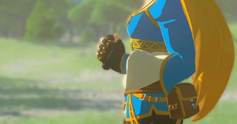 New Zelda: Breath of the Wild vids finally tease Zelda