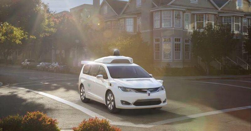 Alphabet Waymo gets 100 self-driving Chrysler Pacifica Hybrids