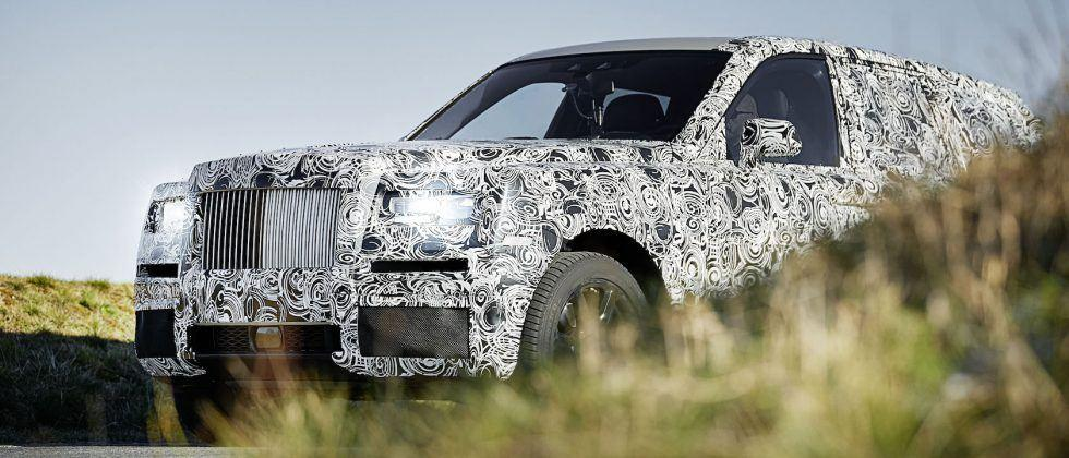 This is the Rolls-Royce SUV: Project Cullinan prototype previewed