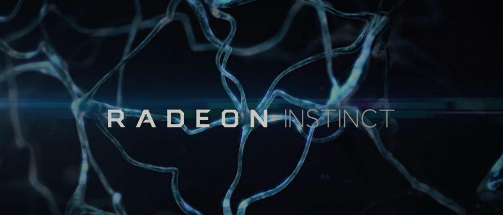 With Radeon Instinct, AMD dives deep into AI, autonomous cars
