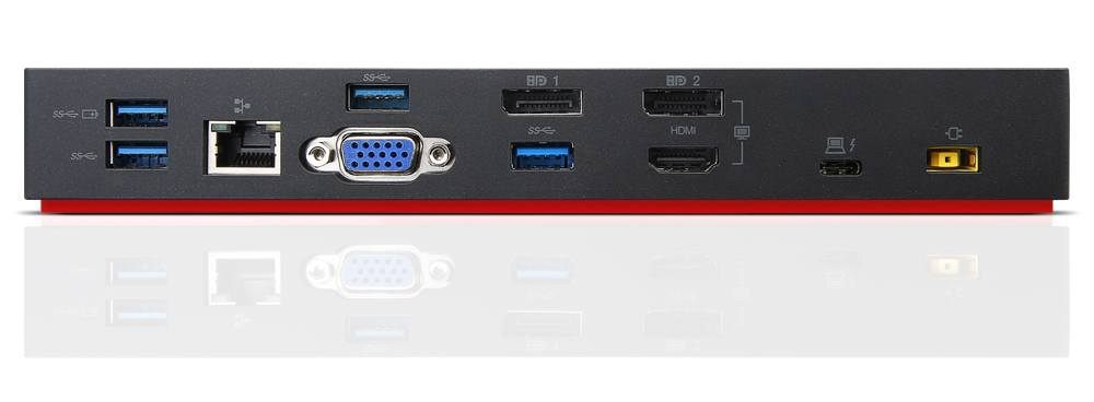Lenovo ThinkPad USB-C and Thunderbolt 3 docks unveiled