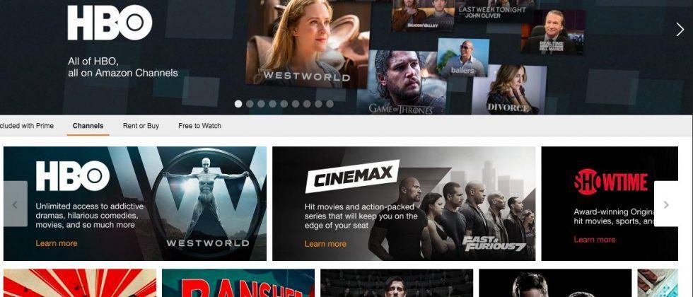 Amazon Prime adds HBO and Cinemax subscription options