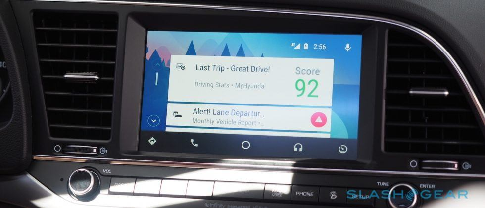 "Amid distraction fears, Android Auto gets ""Ok Google"" voice trigger"