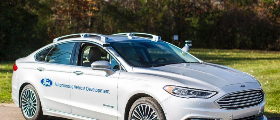 Ford shows off next-gen autonomous Fusion development