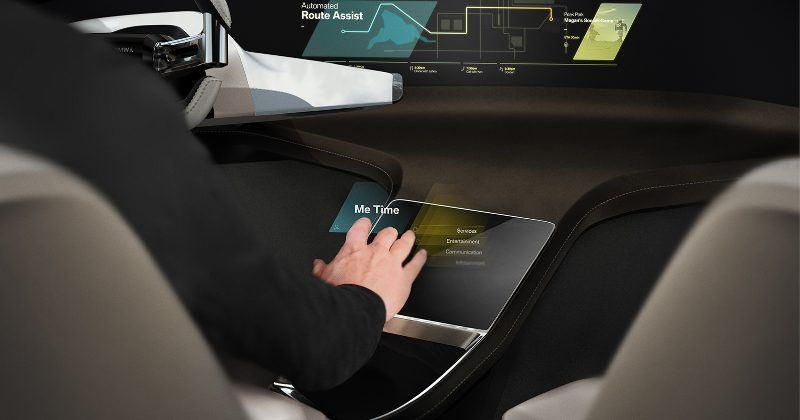 BMW HoloActive Touch controls will turn heads at CES 2017