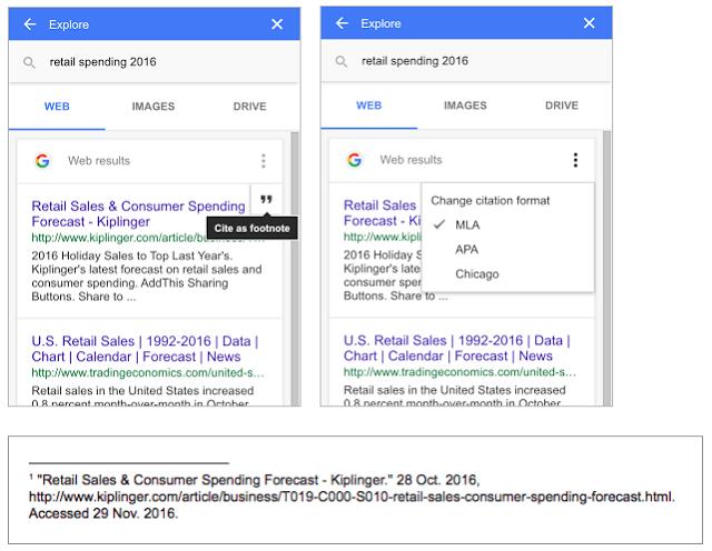 Google Docs Adds Mla And Apa Citations To Make Student Life