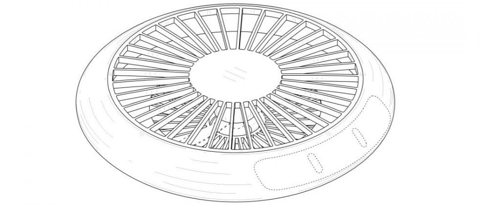 Samsung patents drone designed to look like a small UFO
