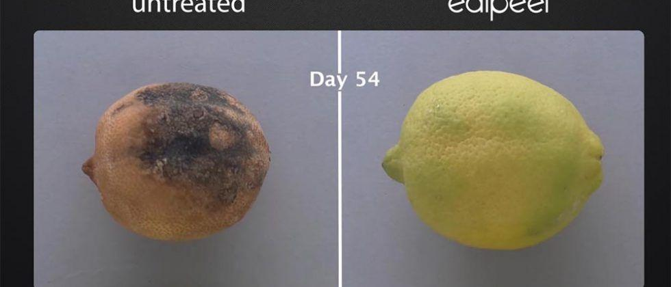 Edipeel invisible food coating keeps fruit fresh for weeks