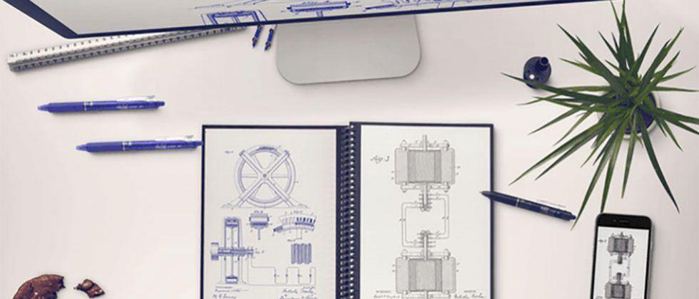 Everlast Notebook is real paper and pen digital notebook that is erasable