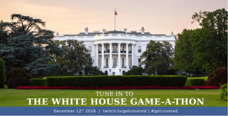 The White House is hosting a game marathon later today (yes, really)