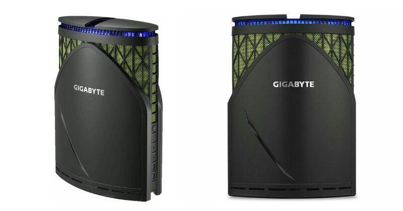 Gigabyte Brix Gaming GT packs power in an odd tower