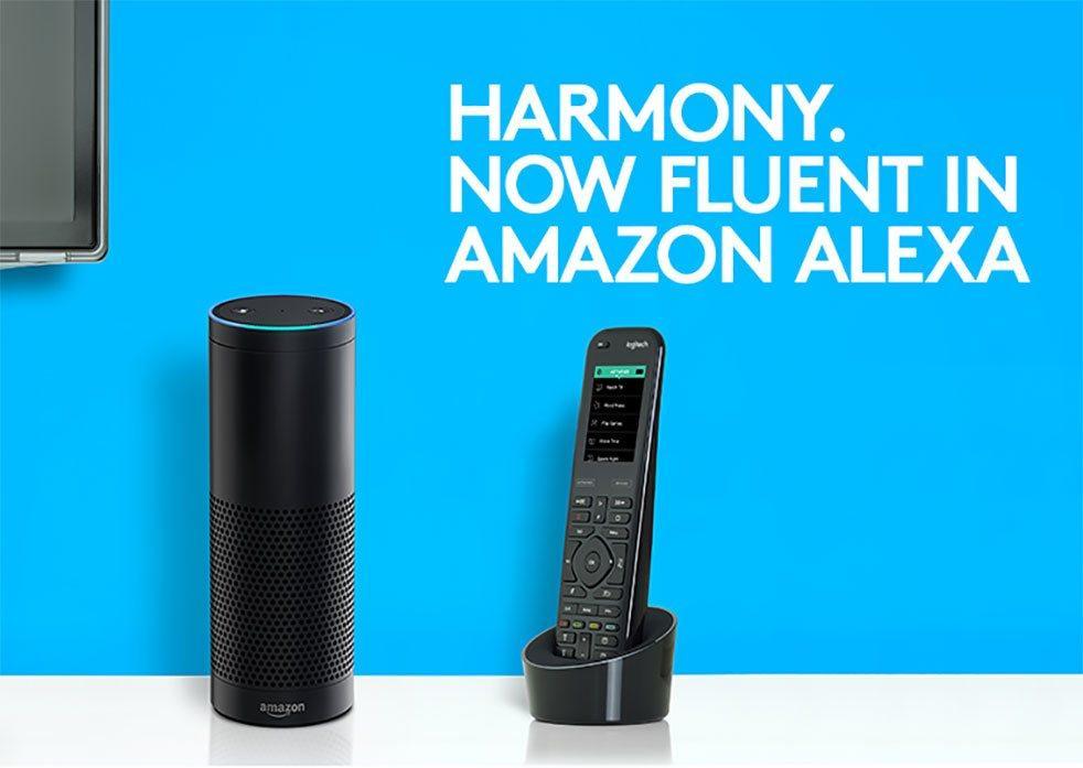 3f5210eb90a Logitech Harmony gains Amazon Alexa support - SlashGear