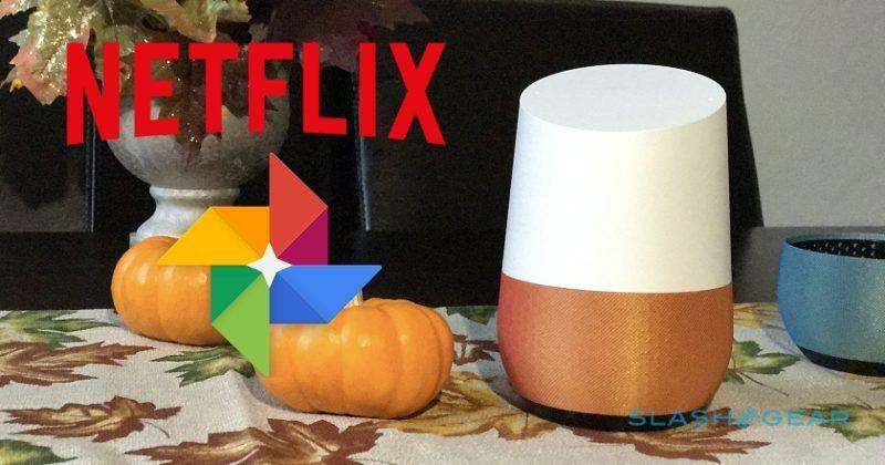 Google Home Netflix, Photos integration gets official