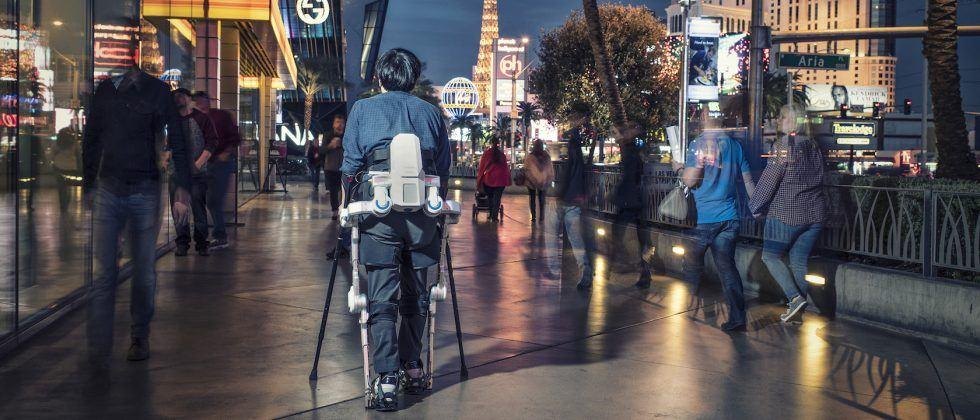 Learning to walk with Hyundai's incredible exoskeleton