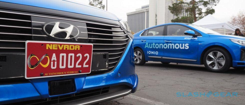 Taking Hyundai's Ioniq autonomous car for a Las Vegas test