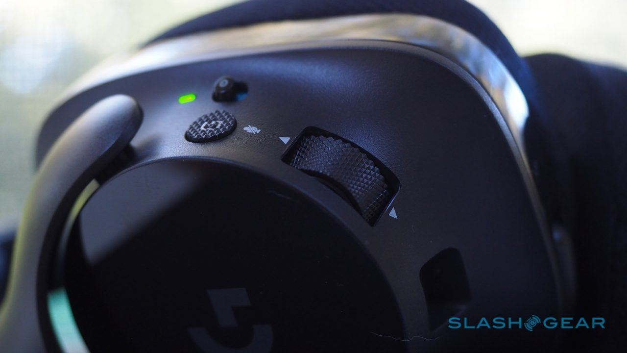 Logitech G533 Wireless Gaming Headset hands-on: DTS 7 1 surround