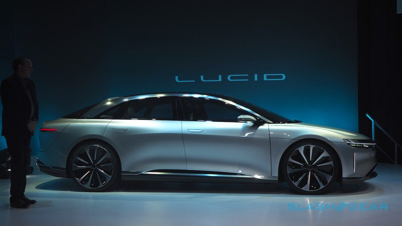 This Is Lucid Air A 1 000 Hp Electric Tesla With 400 Mile Range