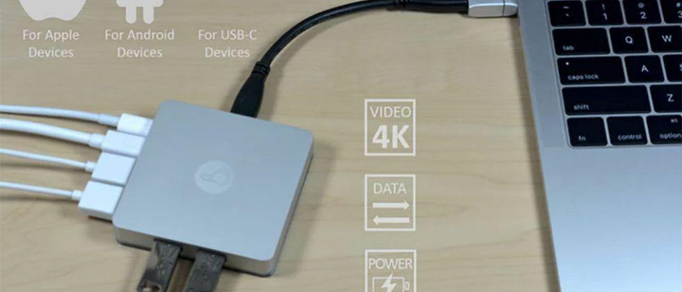 MagNeo magnetic USB-C adapter looks like something Apple would build