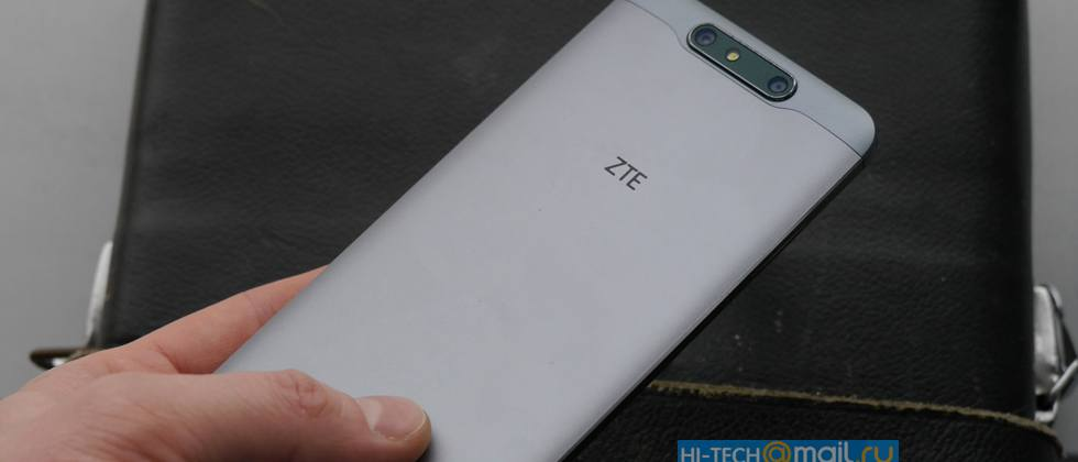 ZTE Blade V8 leaked photos show off metal body, dual camera