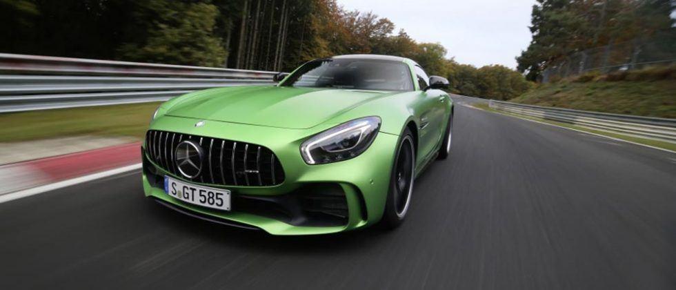 Mercedes Amg Gt R Sets Nürburgring Nordschleife Lap Time Record