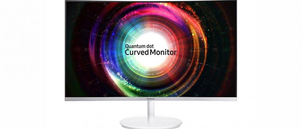 Samsung CH711 Quantum Dot curved monitor unveiled ahead of CES