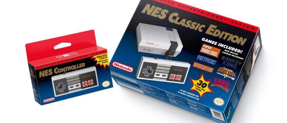 NES Classic Edition sales were through the roof in November
