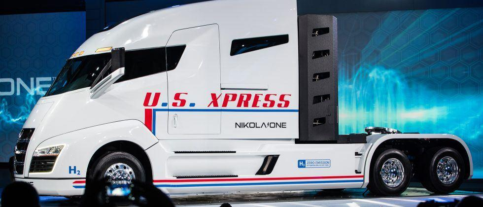 This zero-emission Nikola truck wants to make diesel history