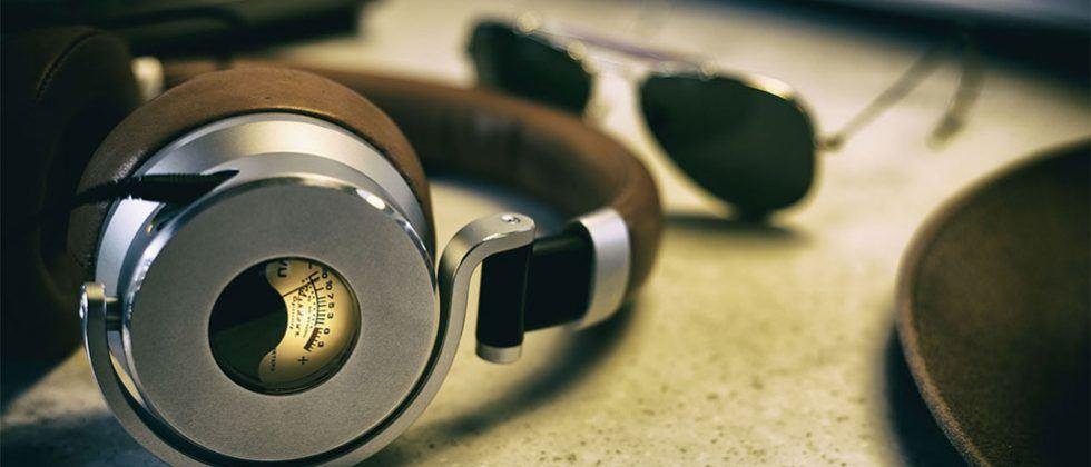 Meters Music OV-1 over-ear headphones rock active visual monitoring and noise cancellation