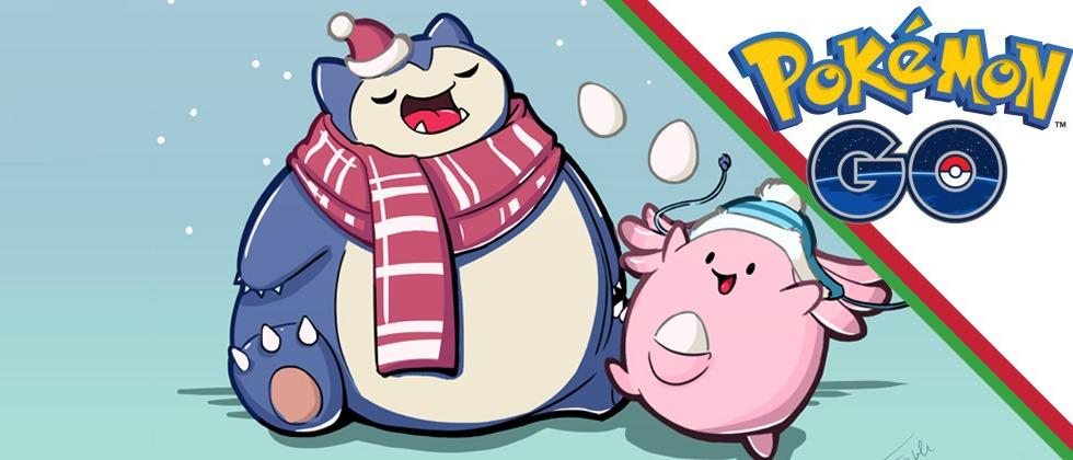 Pokemon Christmas.Pokemon Go Christmas Event Update Reported On Snorlax And