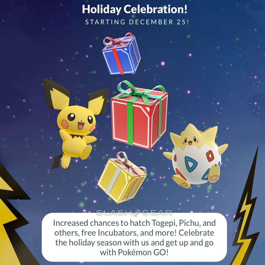Christmas Update Pokemon Go.The Pokemon Go Christmas Event Update Is Available Now