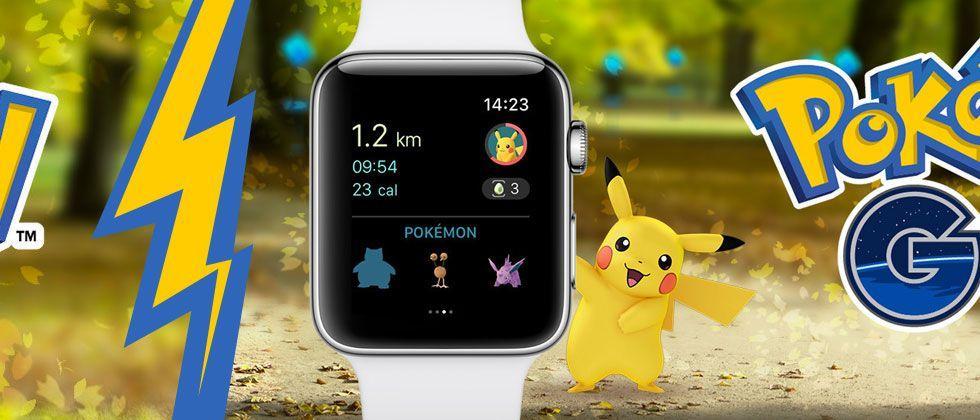 Pokemon GO Apple Watch update live (vs Pokemon GO Plus)