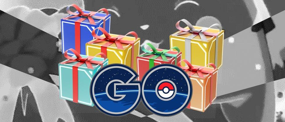 The Pokemon GO Christmas event update is available now