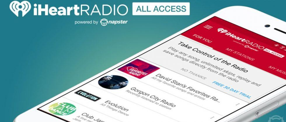 iHeartRadio partners with Napster for on-demand music streaming