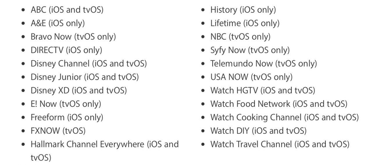 Apple's TV app lands in iOS 10 2 and tvOS 10 1: What you
