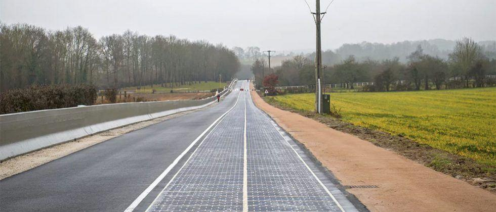 Village opens world's first solar road spanning 0.6 miles