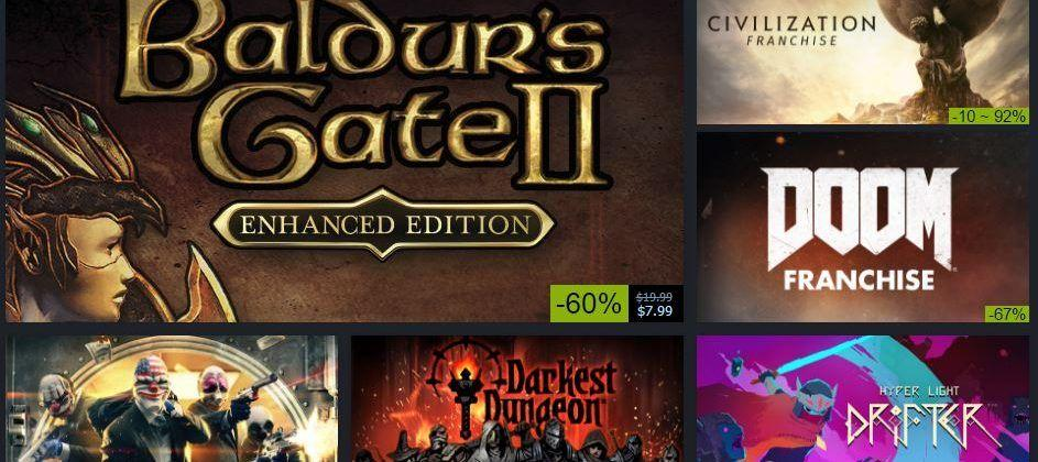 Steam's Winter sale 2016 has begun: Hide your wallets!